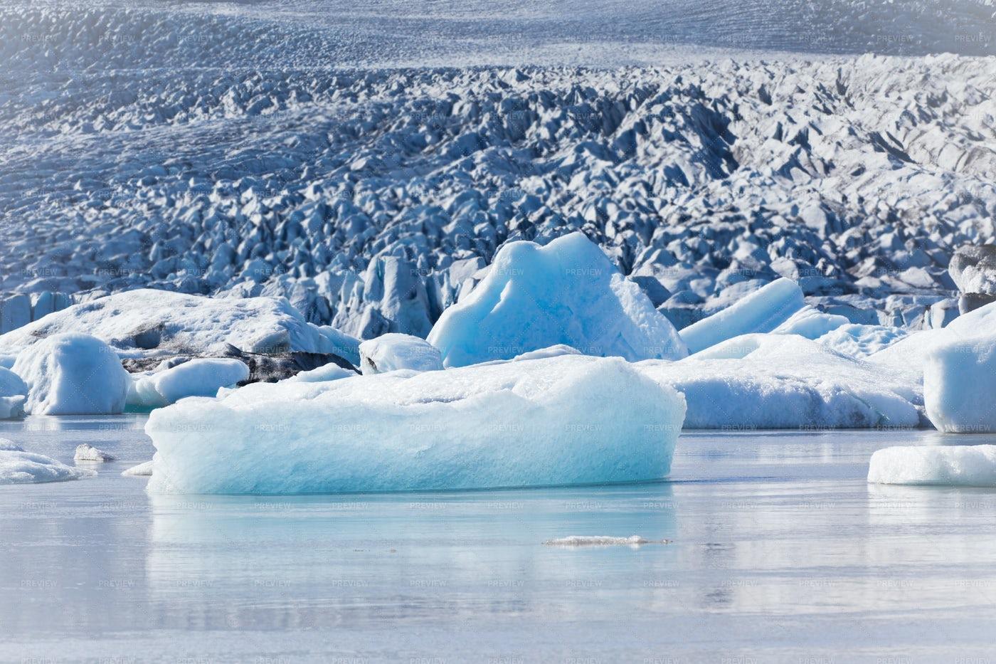 Jokulsarlon Glacier Lagoon: Stock Photos