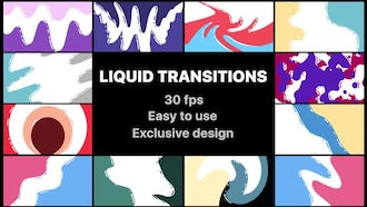 Flash FX Liquid Transitions Pack : Motion Graphics