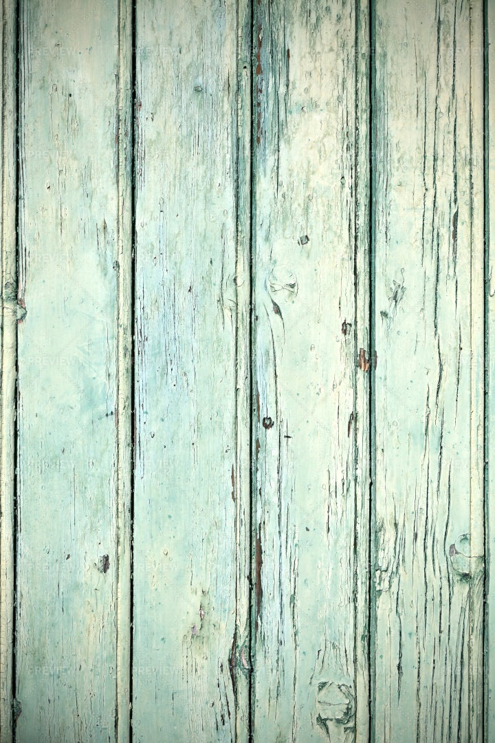 Green Wooden Planks: Stock Photos
