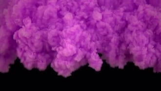 Purple Paint In Water: Stock Video
