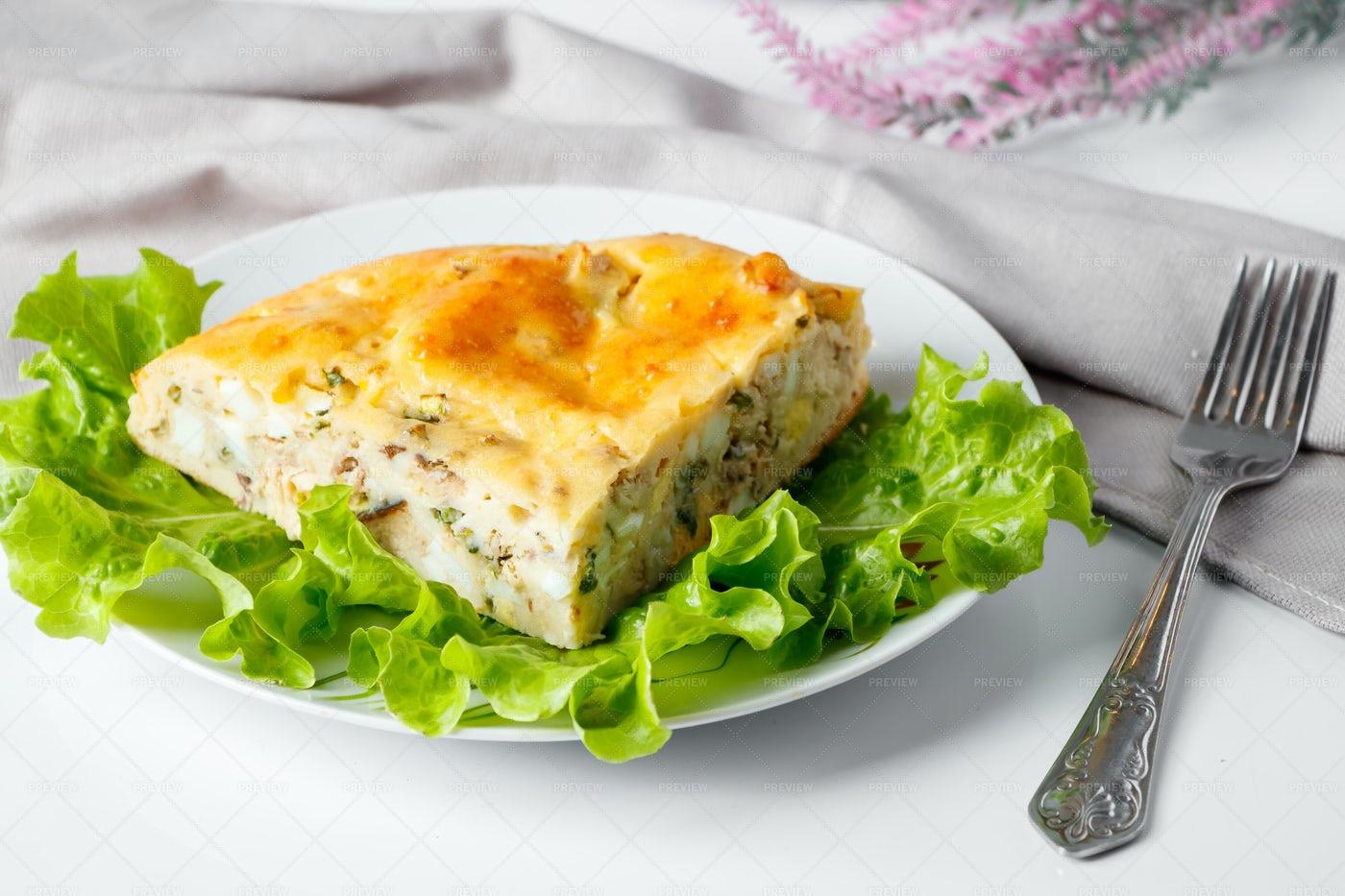 Homemade Fish Pie: Stock Photos