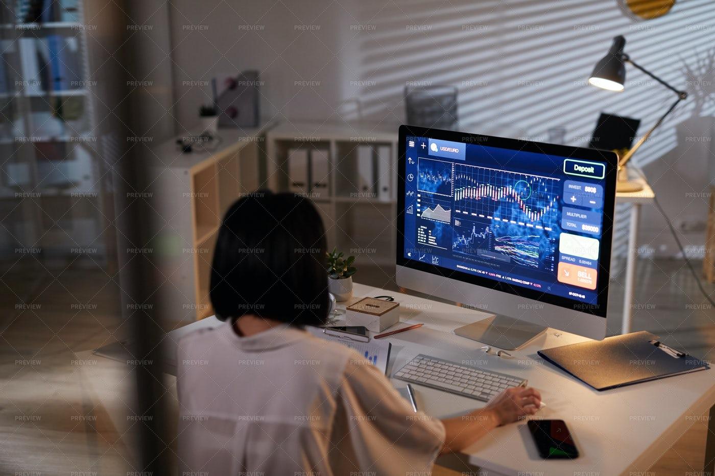 Analyst Working: Stock Photos