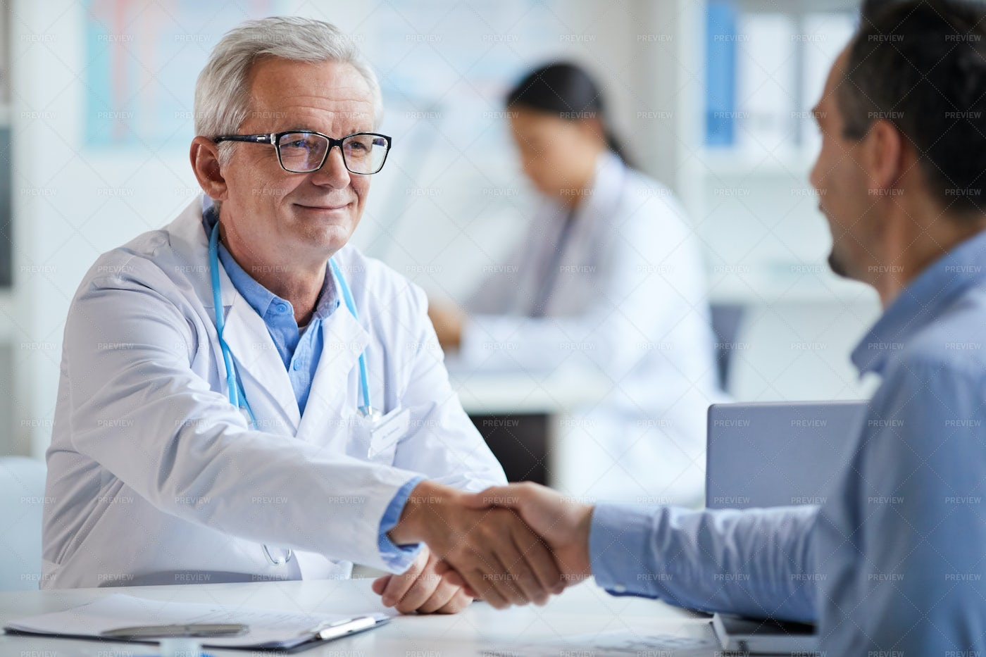 Doctor And Patient Agreement: Stock Photos