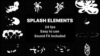 Splash Elements: After Effects Templates
