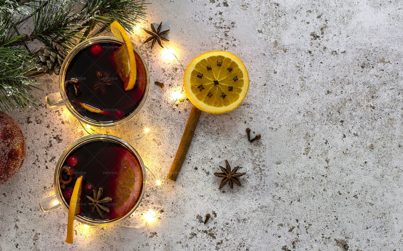 Christmas Mulled Wine: Stock Photos