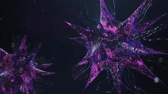 Bacteria Virus Render: Stock Motion Graphics