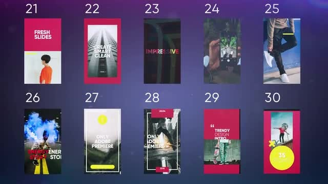 Instagram Stories Pack: Premiere Pro Templates