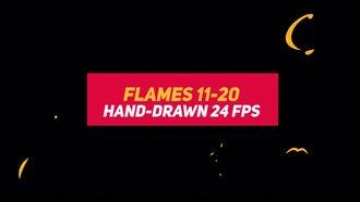 Liquid Elements 2: Flames 11-20: Motion Graphics