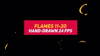 Liquid Elements 2: Flames 11-20: Stock Motion Graphics