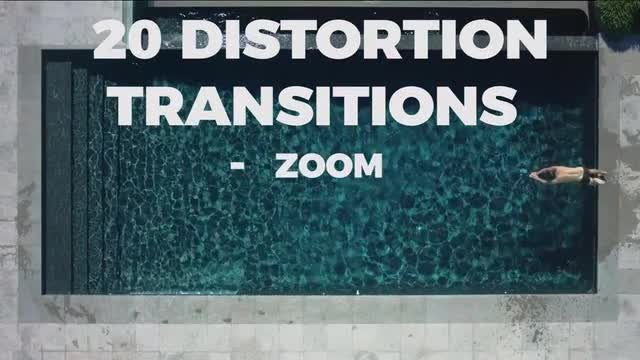 20 Distortion Transitions: Premiere Pro Templates