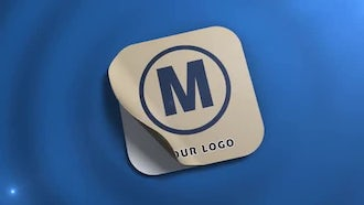 Sticker Logo: After Effects Templates
