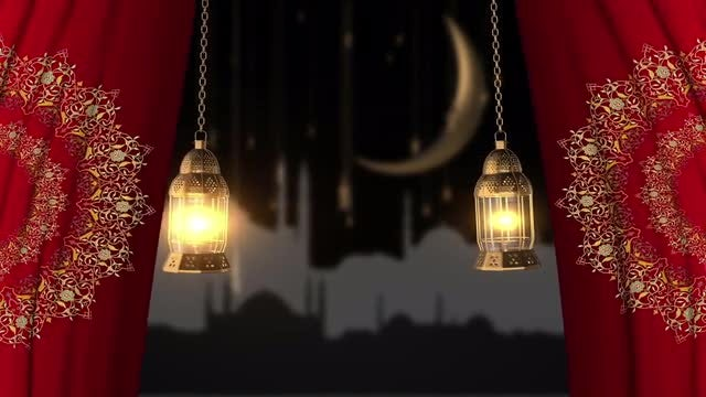 Ramadan Month Intro: Stock Motion Graphics
