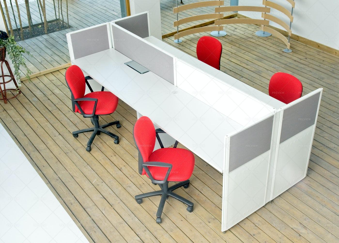 Office Desks: Stock Photos