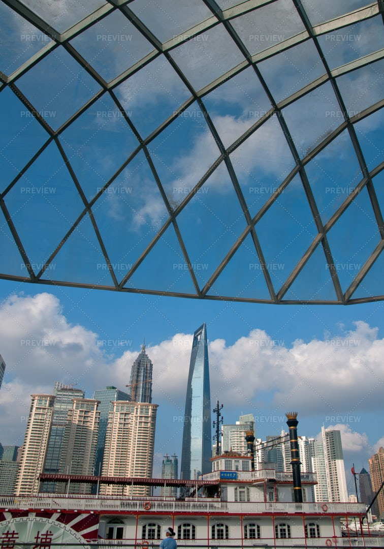 Shanghai Pudong View: Stock Photos