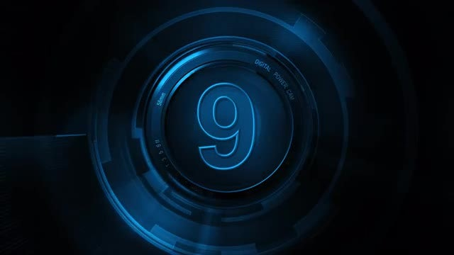 Camera Countdown Capture: Stock Motion Graphics