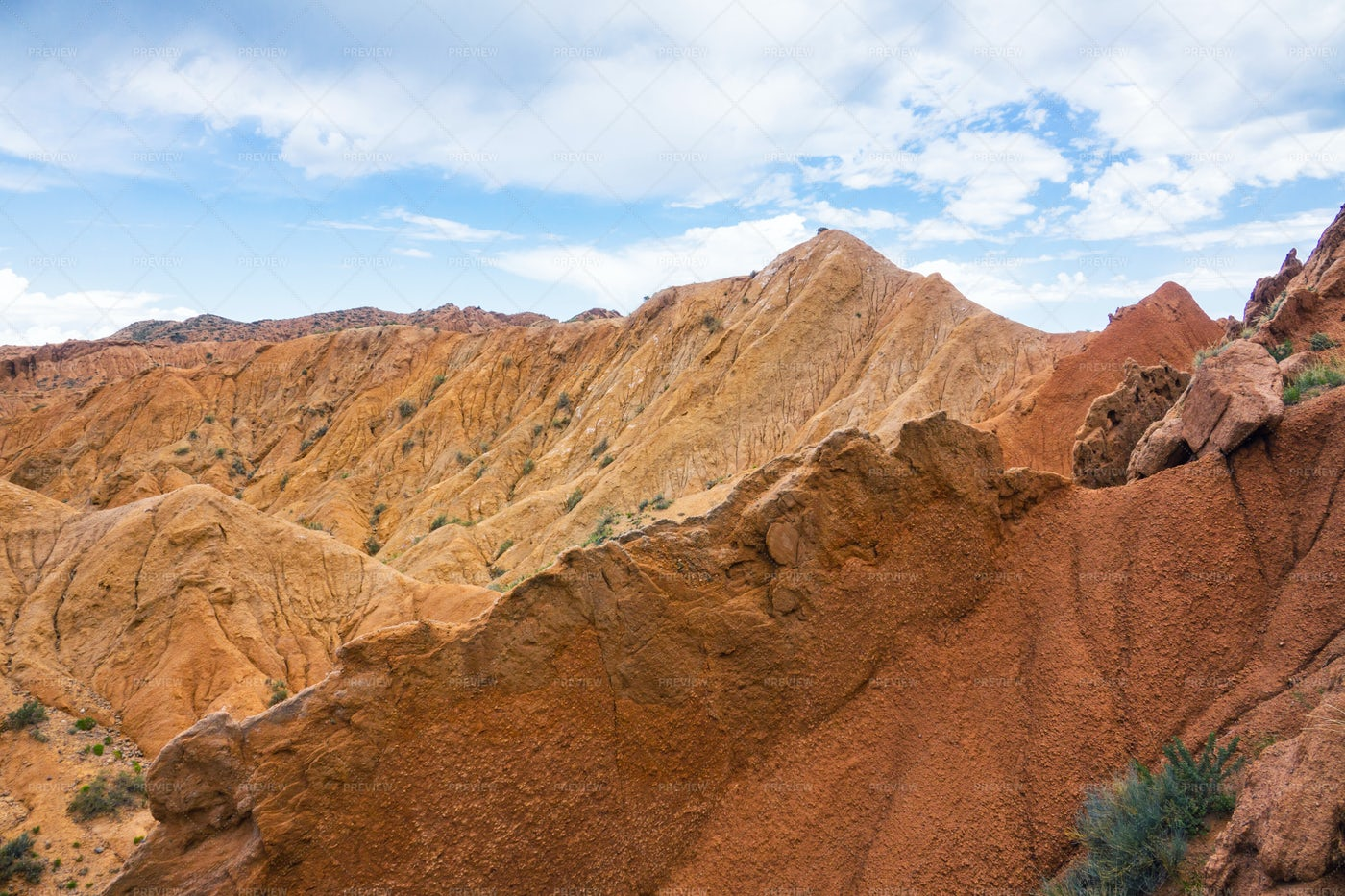 Tops Of Canyons: Stock Photos