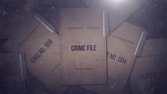 Crime File: Premiere Pro Templates