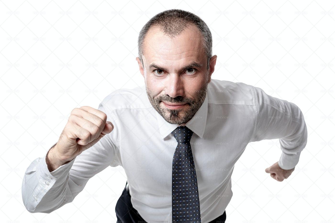 Running Businessman: Stock Photos