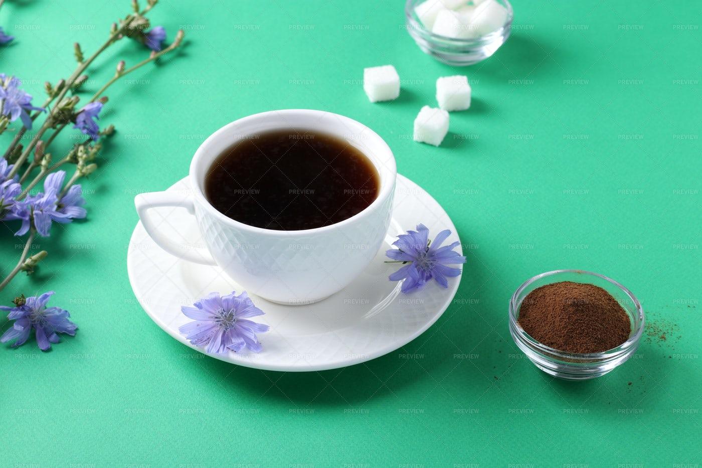 Chicory Beverage: Stock Photos