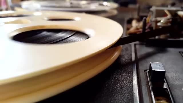 Reel-To-Reel Tape Recorder: Stock Video