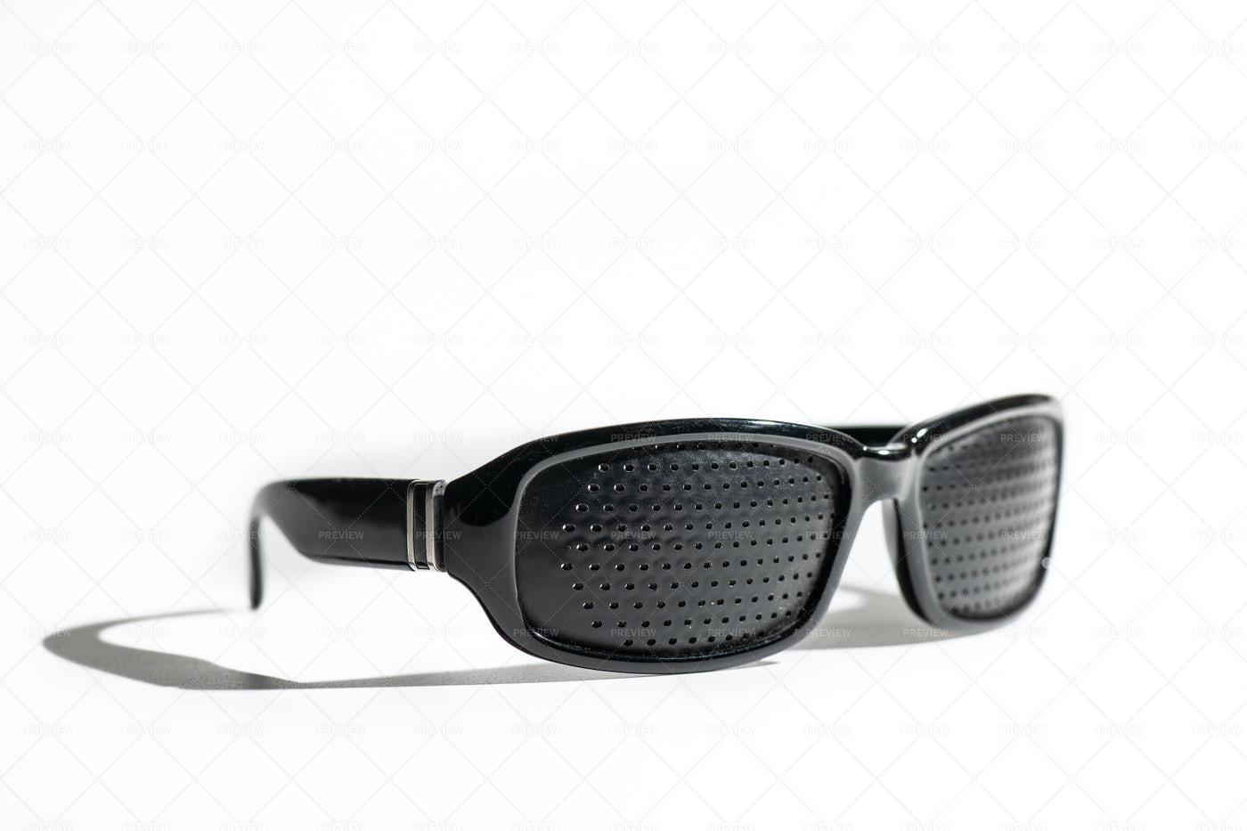 Anti Myopia Glasses: Stock Photos