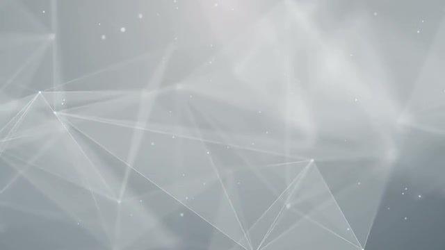 Plexus White Background: Stock Motion Graphics