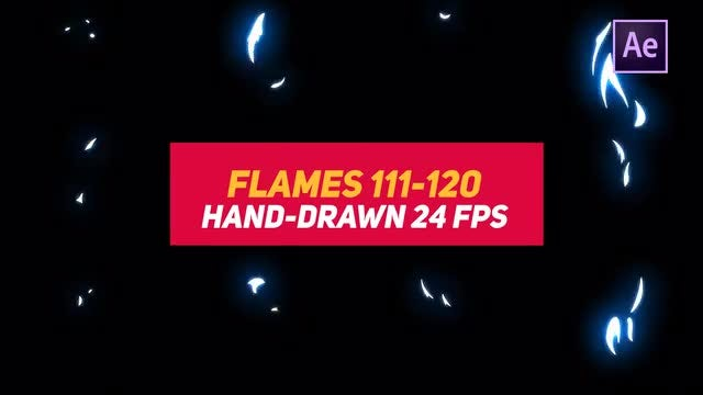Liquid Elements 2 Flames 111-120: After Effects Templates