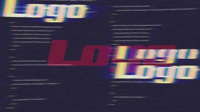 Fatal Error Glitch Logo Reveal 4k: After Effects Templates