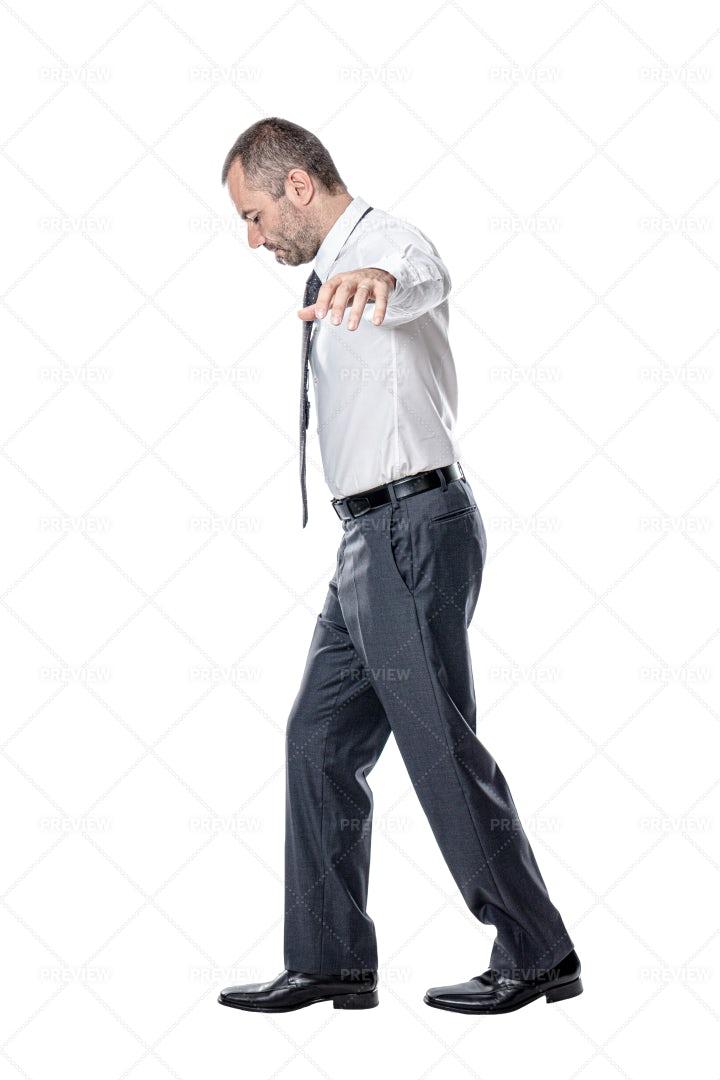 Businessman Keeping Balance: Stock Photos
