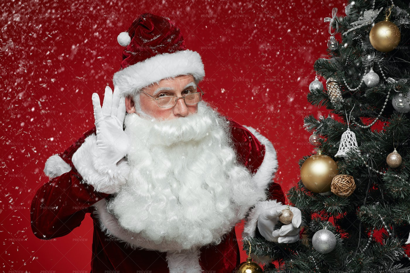 Christmas Is Coming: Stock Photos