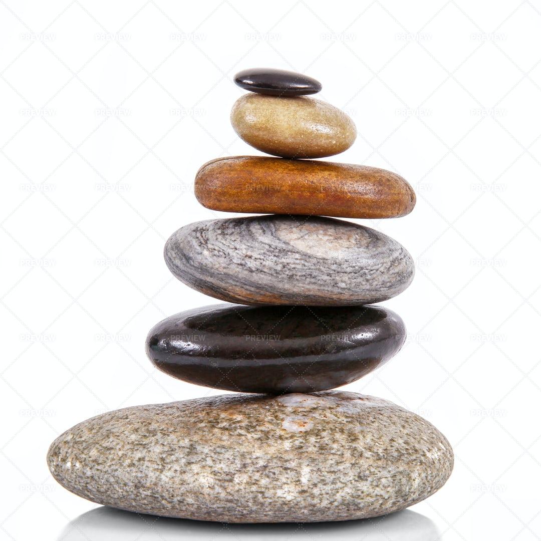 Stacked Stones: Stock Photos