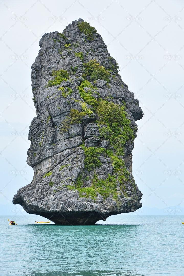 Island At Ang Thong: Stock Photos