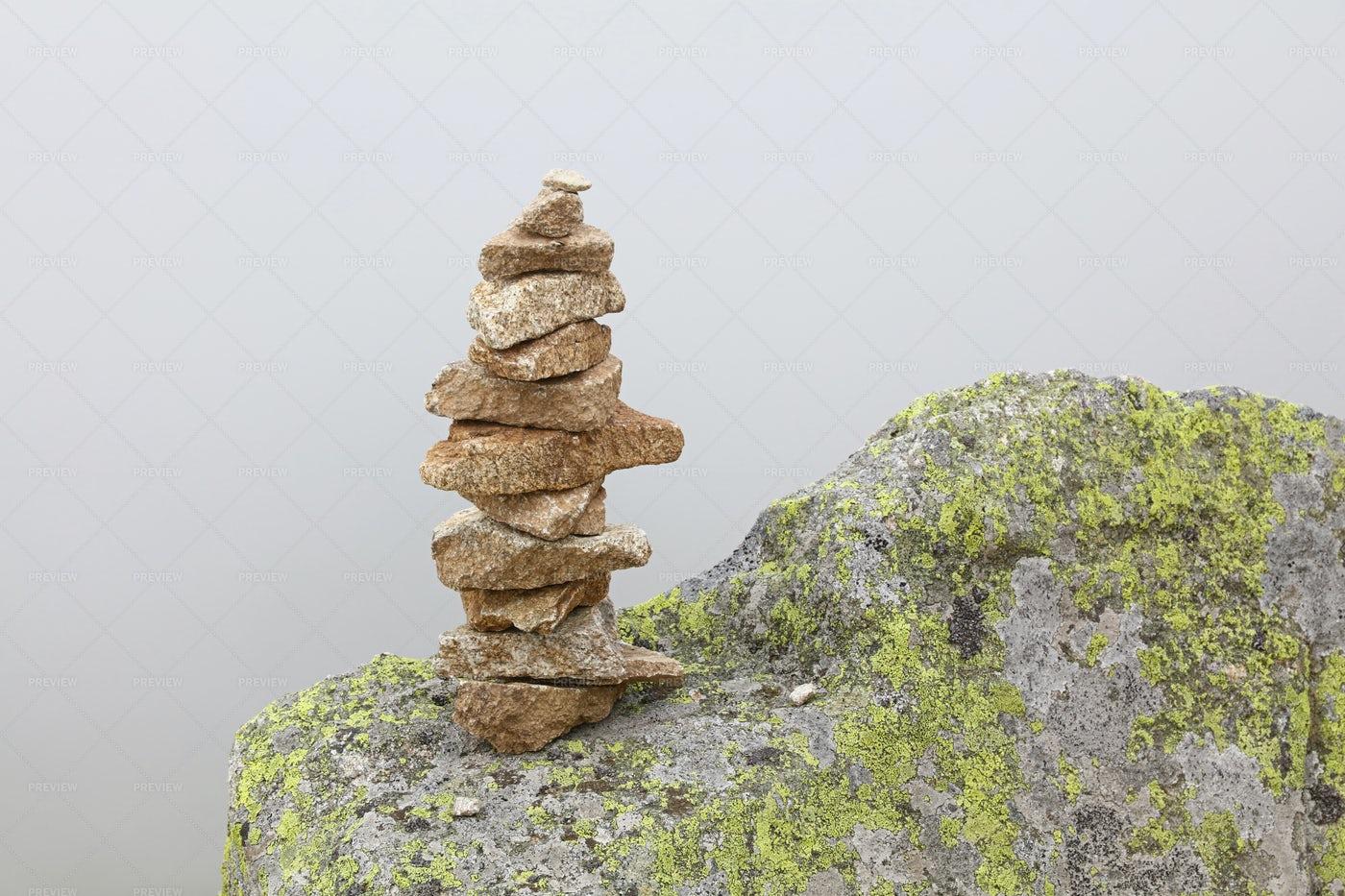 Stoned Pyramid: Stock Photos