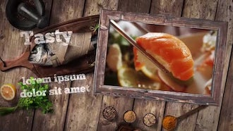 Food Menu Presentation: After Effects Templates