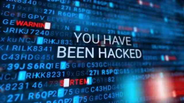 You Have Been Hacked: Stock Motion Graphics