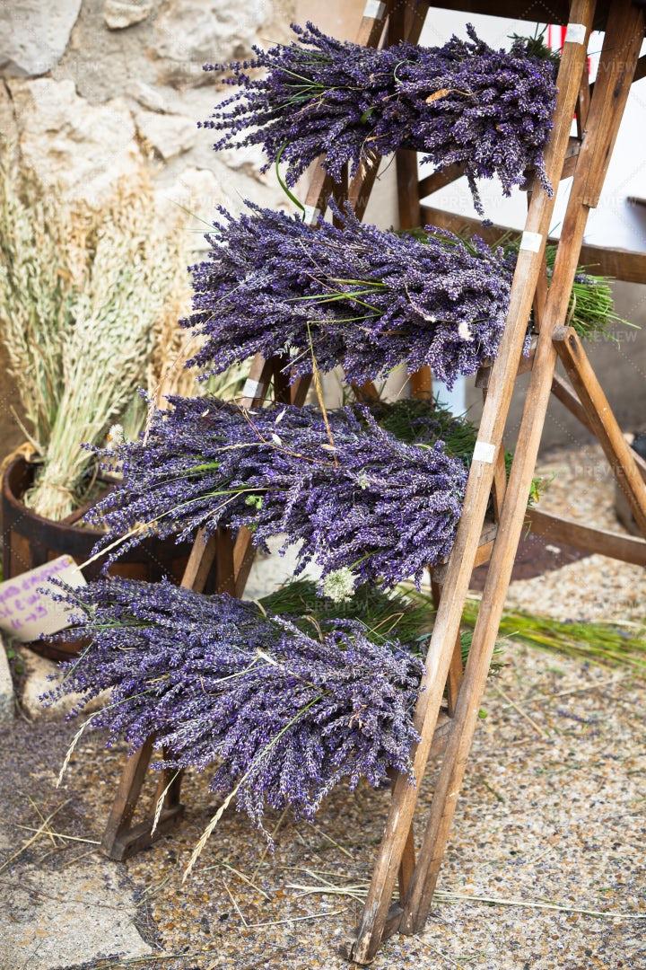 Lavender Brunches: Stock Photos
