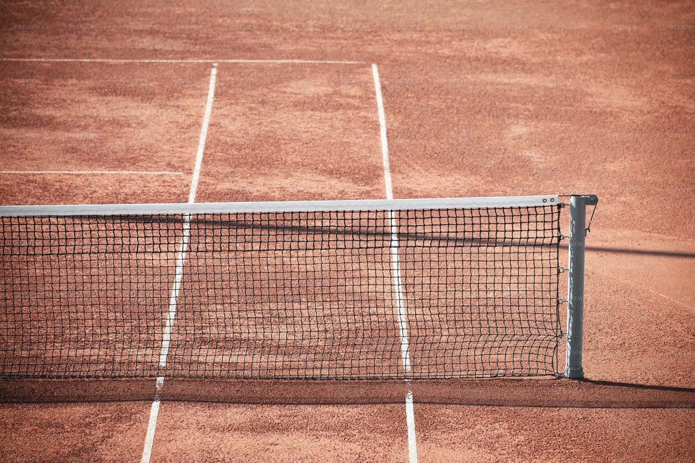 Tennis Clay Court: Stock Photos