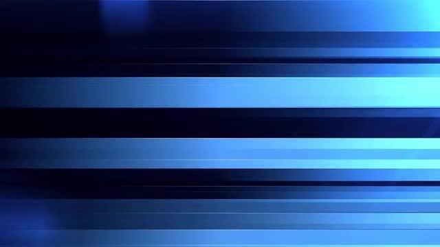Blue Horizontal Bars: Stock Motion Graphics