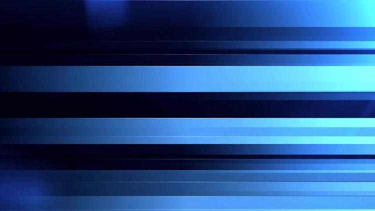 Blue Horizontal Bars: Motion Graphics