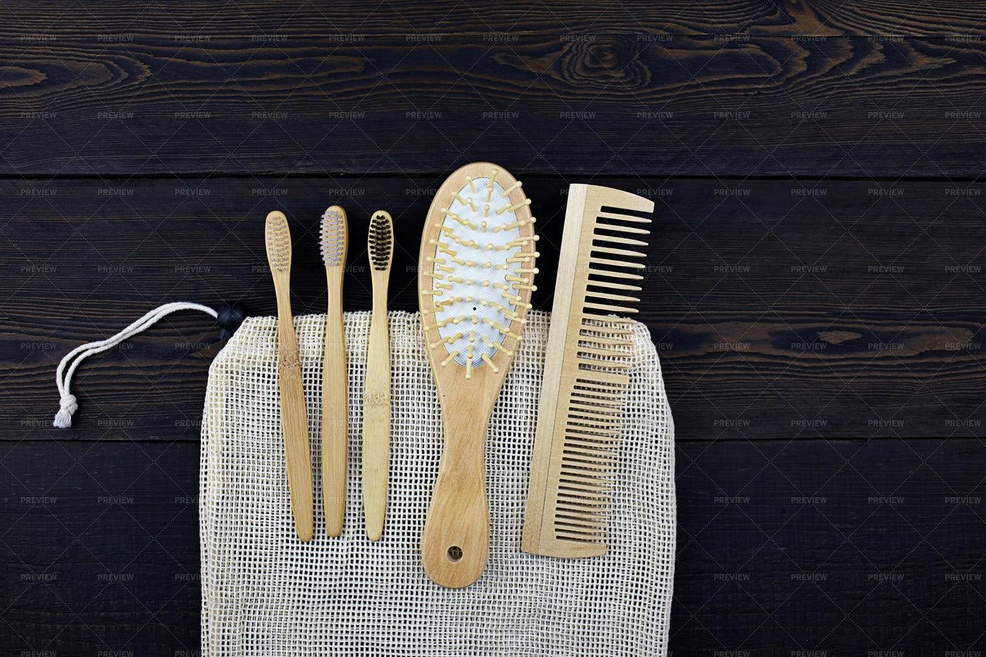 Eco Self Care Items: Stock Photos