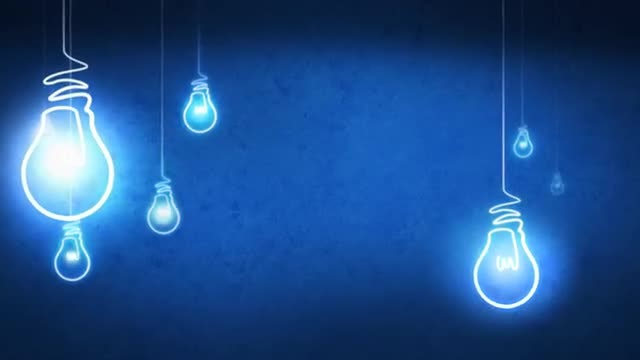 Idea Light Bulb: Stock Motion Graphics
