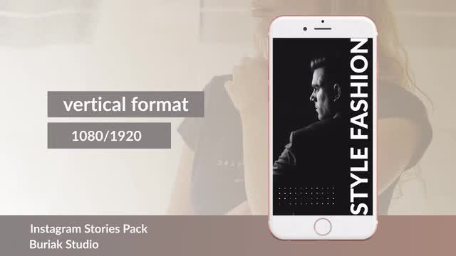Instagram Stories v.1: After Effects Templates