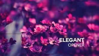Elegant Opener: Premiere Pro Templates