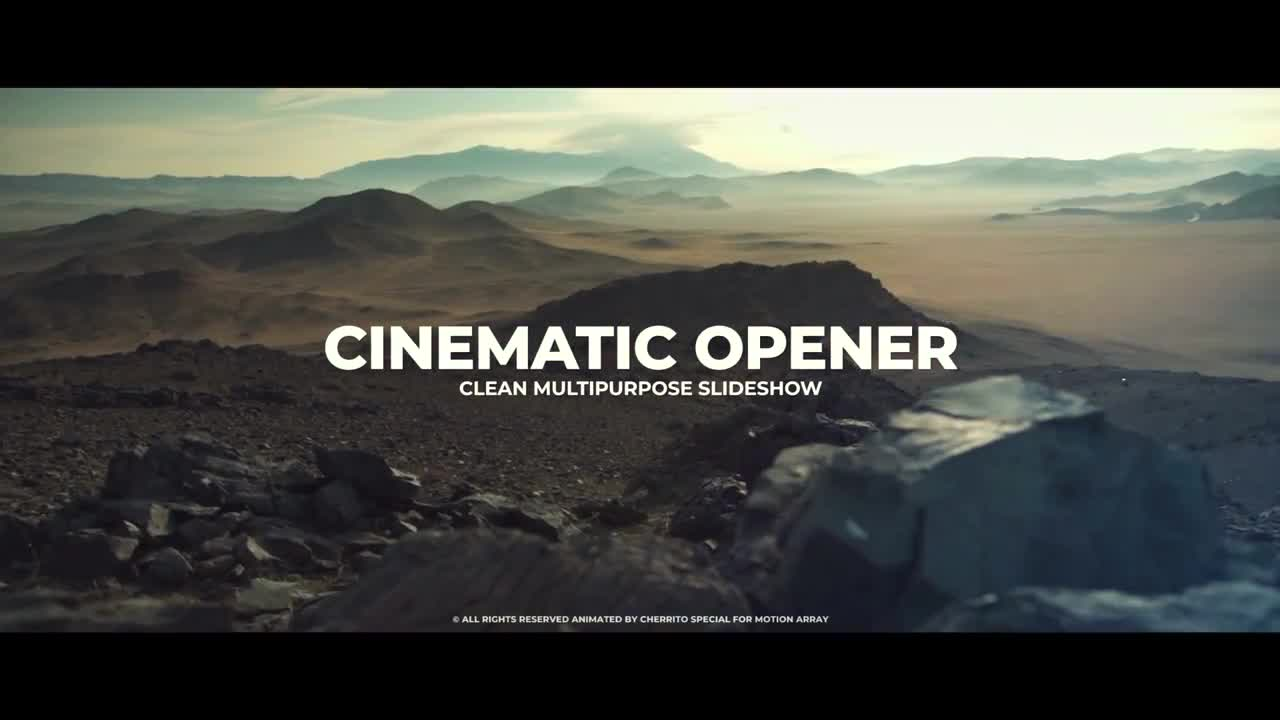 Cinematic Opener 196218 + Music