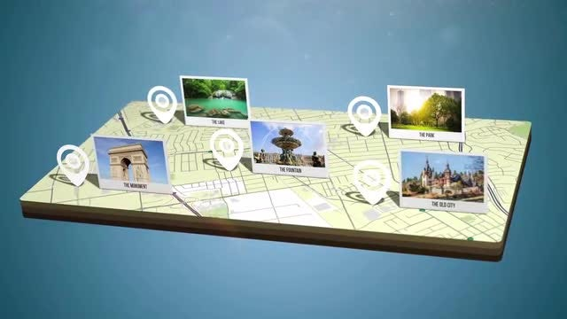 Map Creator 4K: After Effects Templates