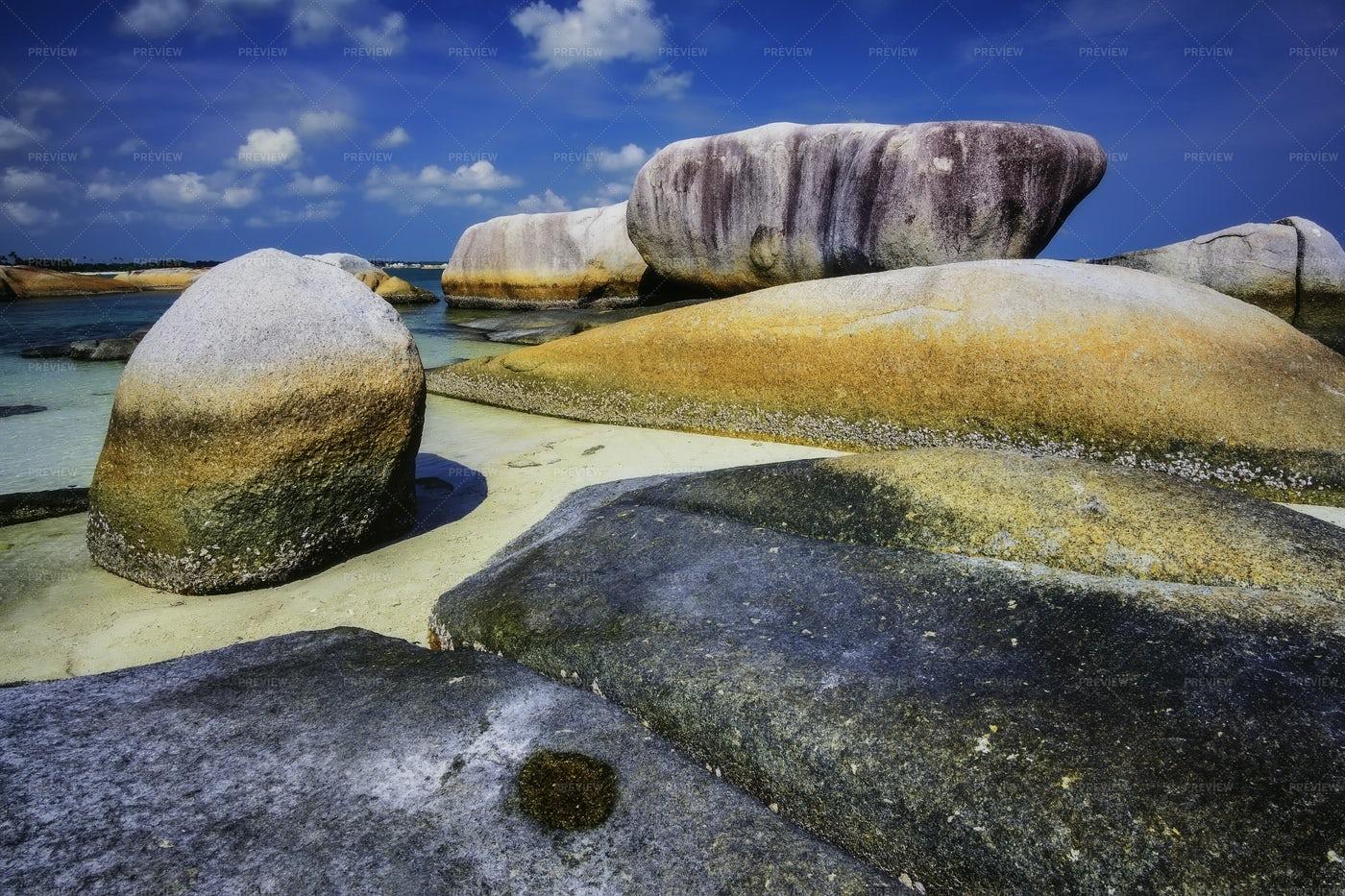 Tanjung Tinggi Beach: Stock Photos