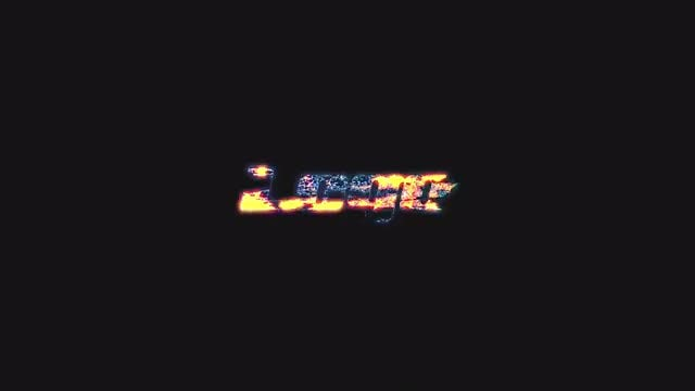 Glowing Glitch Logo: After Effects Templates