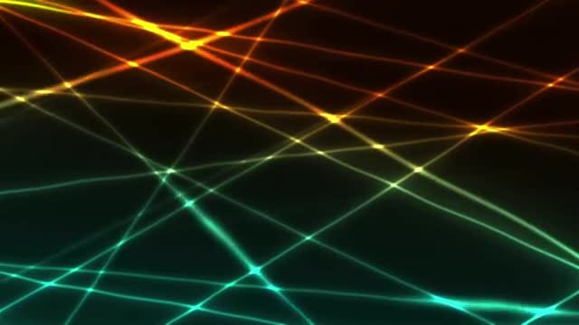 Laser Beams Show Background: Stock Motion Graphics