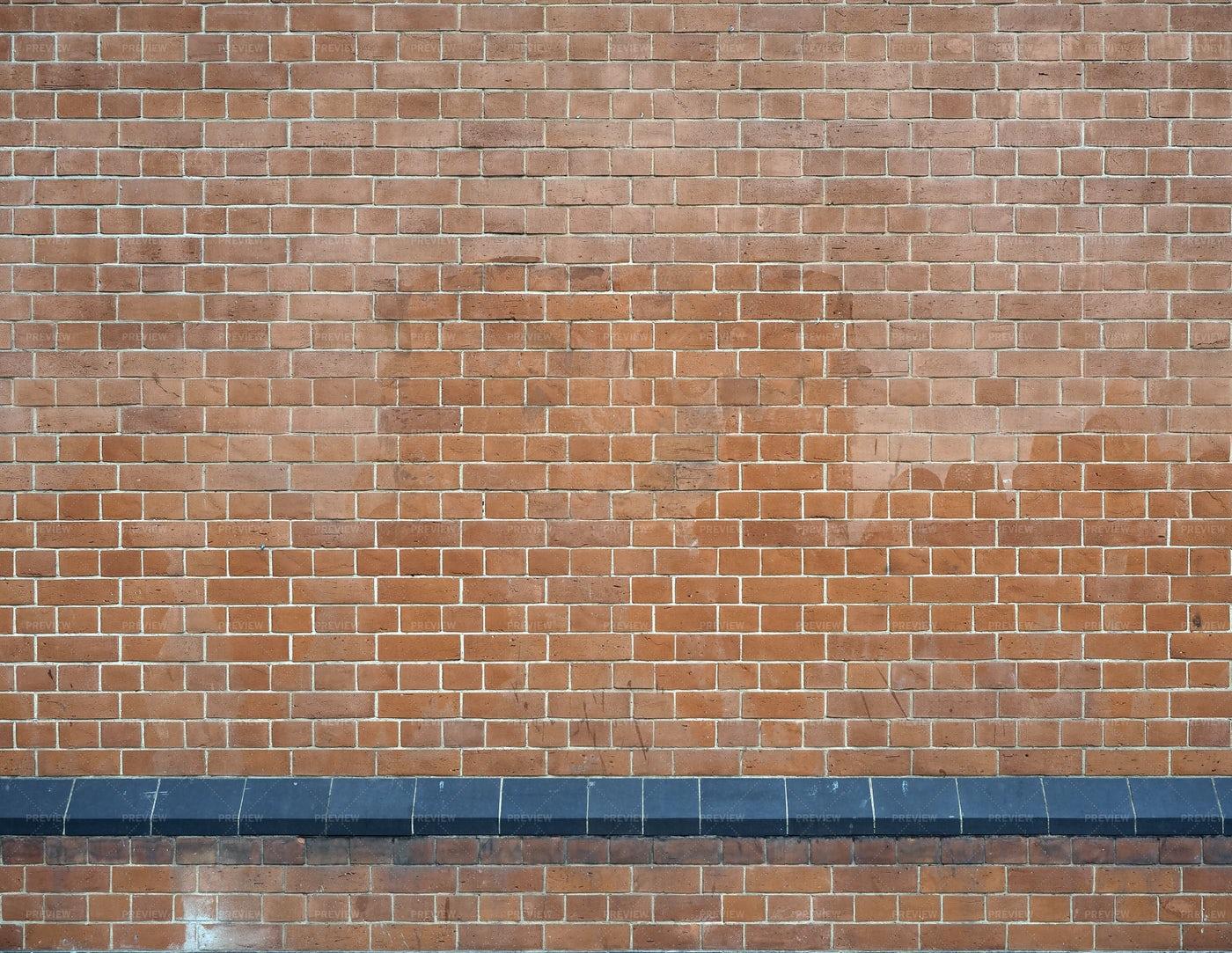 Raw Brick Wall: Stock Photos