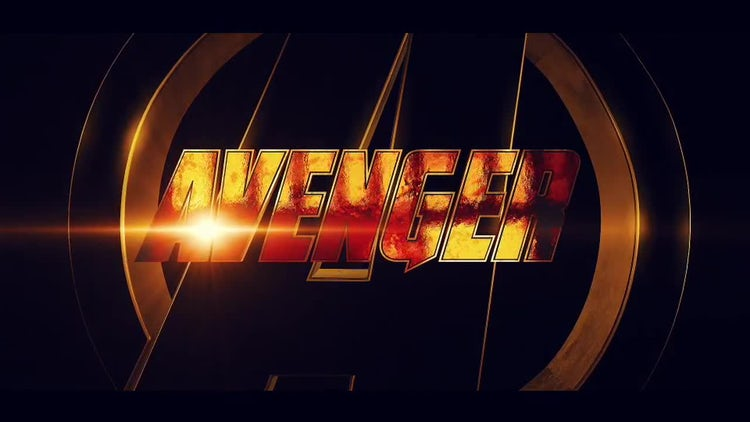 Avenger Logo Intro: After Effects Templates